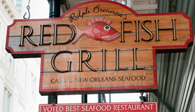 The official website of tony siragusa for Red fish grill new orleans la